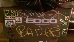 Rip Batler 663 (beengraffin) Tags: graffiti roots vans 711 rem spor puke hek srt sier batle vanz 663k puker semie berst batl naeso palmr ohuno batlr