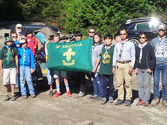 2015 Scouts Shoreline Cleanup