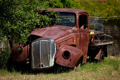 Rusting Away (Explore 7/10/15) (Alan McIntosh Photography) Tags: old truck vintage rust sofala