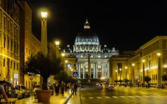 Vatican City - San Pietro (T|Le) Tags: street city travel bridge vacation italy pope vatican rome roma history fall ancient nikon europe italia capital sigma holy 28 sanpietro 1750mm d7000