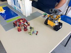 LUG Brasil exhibition - FATEC Carapicuíba (10/2015) (Intentor) Tags: brazil star lego super technic batman heroes wars creator mindstorms lug walle