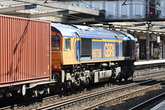 66756_17.8.15 (runtheredline) Tags: station train rail railway 66 class railways eastanglia freightliner 2015 66756 ipswichsuffolk gbfr