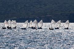 IMG_8829 (stig munchaus) Tags: sailing optimist vouliagmeni