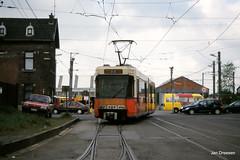 Charleroi (Jan Dreesen) Tags: tram bn lightrail 6100 tec charleroi dépôt hainaut henegouwen jumet