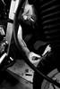 Garage (FR4GIL3) Tags: men tattoo beard mechanical cigarette smoke garage moto motorcycle viking mecanique barbe