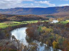 South Fork of The Shenandoah River, Shenandoah River State Park, Warren County, VA (r.w.dawson) Tags: autumn mountains beautiful river landscape virginia outdoor scenic va serene shenandoahriver 2015 warrencounty southbranch