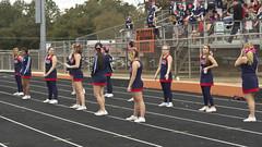 DJT_5966 (David J. Thomas) Tags: sports football athletics cheerleaders homecoming arkansas tailgating marchingband kangaroos scots pipeband batesville austincollege flagteam lyoncollege pioneerstadium