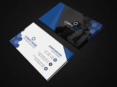 Corporate Business Card (akshor_1992) Tags: blue businesscard card clean color corporate creative editable elegant letter letterhead modern pad print printready professional simple sleek stationery stylish