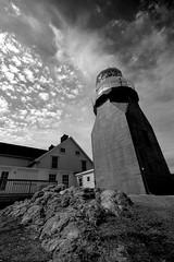 look up (gordjohnson) Tags: trip travel light summer sun canada clouds newfoundland coast rocky cliffs keeper crowhead ocks lighthouser seascapesky
