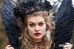 castlefest 2015 (EmH Fotografie) Tags: costumes portrait canon 85mm portret 6d lisse castlefest blacklady wintereditie