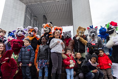 Furmeet march de noel de la defense 2015 (Dydi Lion) Tags: de furry noel furries march defense puteaux 2015 fursuits furmeet
