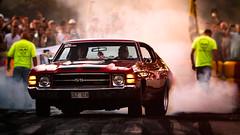 1971 Chevrolet Chevelle SS at Power Big Meet 2015 (Subdive) Tags: chevrolet car sweden smoke chevelle vehicle sverige västerås powermeet hälla powerbigmeet2015