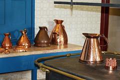 La villa Montserrat (hans pohl) Tags: portugal kitchen cuisine sintra montserrat cuivre