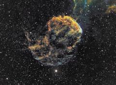 IC443 - The Jellyfish Nebula (HST Palette) (Photonfisher) Tags: ic443 jellyfishnebula astrometrydotnet:status=solved sharpless248 astrometrydotnet:id=nova1355813