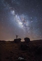 The Prayer (arq.alextoro) Tags: cabodelavela colombia fotografianocturna guajira landscape landscapes largaexposicion longexposure milkyway nightphotography nocturnas paisaje paisajes stars vialactea rocks starscape