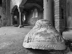 Prinz-Wilhelm-Gedchtniskirche 17 (Moddersonne) Tags: lost place urbex verlassen abandoned decay kirche ruine kirchenruine prinz wilhelm gedchtniskirche polen teufel kirchturm