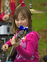 The Youngest On Bass (swong95765) Tags: kid band bass gig cute musician talented