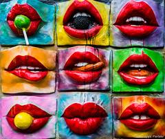 Lips (makizekai16) Tags: lips smile kiss colors pop streetart teeth