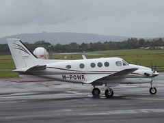 M-POWR Beech King Air C90A Northside Aviation Ltd (Aircaft @ Gloucestershire Airport By James) Tags: gloucestershire airport mpowr beech king air c90a northside aviation ltd egbj james lloyds