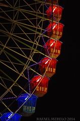 Feria de beda (Guervs) Tags: noria ferriswheel riesenrad granderoue ruotapanoramica feria color noche night sanmiguel beda jan andaluca andalusia espaa spain espagne spanien spagna  espanya   espainia