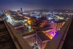 Velocity Tower, Sheffield - Oct. '16 (Craig Skinner - www.craigskinnerphotography.co.uk) Tags: sheffield southyorkshire yorkshire rooftop rooftopping trespass ue urbanexploration urbex nikon cityscape tokina 1116mm moorfoot stpauls