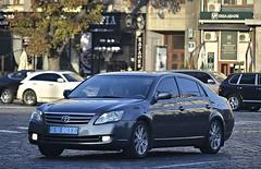 11-0037 (License plates spotter from Ukraine) Tags: toyota avalon police ukraine kyiv policelicenseplates міліцейськіномернізнаки україна київ 110037
