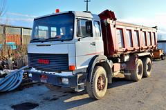 fiat 330 F35 (riccardo nassisi) Tags: truck camion abbandonato abandoned rust rusty relitto rottame ruggine ruins scrap scrapyard epave cava piacenza san nicol