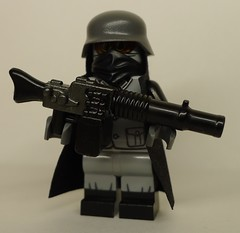 Weird War I Imperial German Trooper with XMG-17na (enigmabadger) Tags: brickarms lego custom minifig minifigure fig weapon weapons accessory accessories combat war proto prototype protoz wwii scifi sciencefiction citizen brick