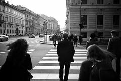 Milano, Italia (philipjohnson) Tags: nikon d700 nikkor 28mm f28 ais nikkor28mmf28ais street black white bw monochrome milano milan italy italia corso venezia via palestro bianca nero