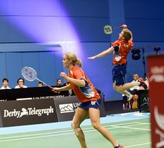 NBLmatch-5100-0509 (University of Derby) Tags: 5100 badminton nbl sportscentre universityofderby match