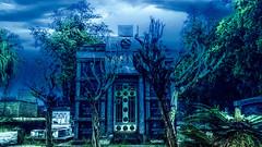 (gesielfreire) Tags: art artist arte architecture collor blue arquitetura night