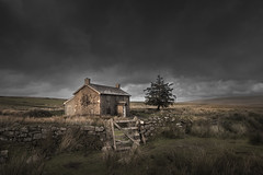 Wrong Turn (Neil Burnell) Tags: muted dramatic moody clouds nuns cross dartmoor neil burnell colour