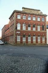Sheffield, Cornish Place Works, West Range (Clanger's England) Tags: sheffield southyorkshire wwwenglishtownsnet lbs456680 gradeiistarlistedbuilding factory et england ebi ebb