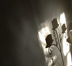 Morning shadow play (YAZMDG (16,000 images)) Tags: candelabracandles shadows shadowplay