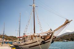 Poros - Sailing Boat Harbourside 2 (Le Monde1) Tags: poros greece greek island lemonde1 nikon d800e saronicislands sfairia kalavria sailing boat harbourside
