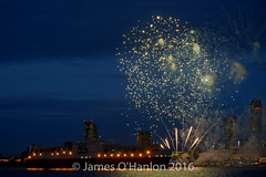 Atlantic Sea Firework Display 20-10-16 (napoleon666uk) Tags: acl atlantic container line atlanticcontainerline atlanticsea river mersey rivermersey liverpool fireworks display
