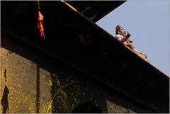 sadhu, saundatti (nevil zaveri (thank you for 10 million+ views :)) Tags: zaveri india karnataka yellamma saundatti temple photography photographer images photos blog stockimages photograph photographs nevil nevilzaveri stock photo statue idol shrine sadhu architecture shadow geometry geometrical