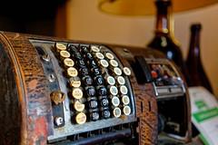 Computing Power (Rice Bear) Tags: italy porticodiromagna emiliaromagna it antique cashregister alvecchioconvento