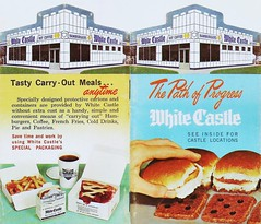 White Castle booklet, 1966 (STUDIOZ7) Tags: whitecastle hamburgers booklet 1960s sixties 60s fastfood restaurant pathofprogress