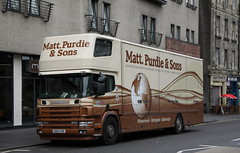 Scania 260 94d removal lorry of Matt Purdie & Sons (Ian Press Photography) Tags: scania 260 94d removal lorry matt purdie sons edinburgh scotland removals moving movers transport pantechnicon