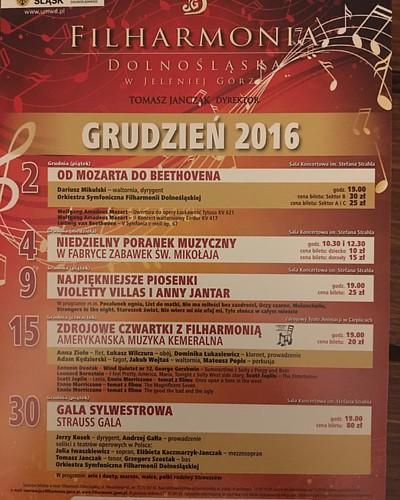 #Concert coming soon - 2.12.2016 #DariuszMikulski #Conductor & #Soloist #FilharmoniaDolnoslaska #JeleniaGora #Hirschberg #NiederschlesischePhilharmonie #Mozart #LaClemenzaDiTito #HornConcert #Beethoven #Sinfonie No 5