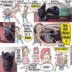 anuncio (Saulo Cruz) Tags: vendocmera nikon d80 venda venda fototiras fototirinhas cartoon desenho draw ginger ruiva