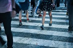 On my way!! OK (Pop_narute) Tags: cross way crossroad road street walk foot leg people shibuyacross shibuya tokyo japan