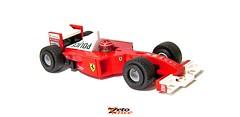 Ferrari F1 2001 (ZetoVince) Tags: zeto vince zetovince lego greek car ferrari formula vehicle sport motor tutorial instruction one video f1