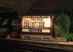 2016-10-15-7256 - Statfold Junction Signal Box (fotobola) Tags: signalbox midland statfold nightshot