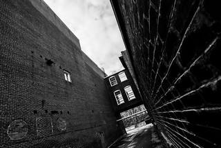Brick walls...