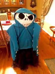 Octopus Halloween costume (tenhourclock) Tags: aquaticlife sealife skirt hoodie octopus handmade halloweencostume halloween costume