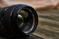 My companion (Budoka Photography) Tags: lens canonllens canonfd50mmlf12 primelens 50mm outdoor stilllife