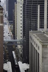 Rolling clockwise (aerojad) Tags: chicago openhousechicago openhousechicago2016 ohc ohc2016 cityscape skyscraper skyscrapers architecture thel cta train tracks traintracks