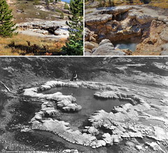 Heart Lake Upper Group: Deluge Geyser 1872 - 2015 (Chief Bwana) Tags: wy wyoming yellowstone yellowstonenationalpark nationalparks backcountry heartlake heartlakegeyserbasin geyserbasin hotspring geothermal delugegeyser uppergroup psa104 chiefbwana 500views